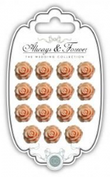 Resin Flowers- Always & Forever - The Wedding Collection - Peach Pk 15